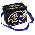 Forever Collectibles NFL Zipper Lunch Bag; Baltimore Ravens