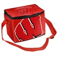 Forever Collectibles NCAA Zipper Lunch Bag; Wisconsin