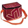 Forever Collectibles NCAA Zipper Lunch Bag; Virginia Tech