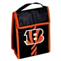 Forever Collectibles NFL Velcro Lunch Bag; Cincinnati Bengals