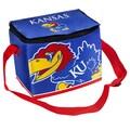 Forever Collectibles NCAA Zipper Lunch Bag; Kansas