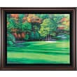 Golf Gifts & Gallery 'Augusta 11 White Dog' Framed Photographic Print