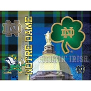 Holland Bar Stool NCAA Graphic Art on Canvas; Notre Dame