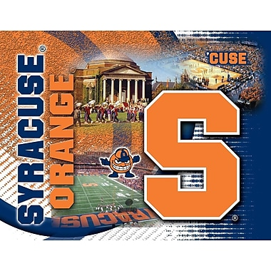 Holland Bar Stool NCAA Graphic Art on Canvas; Syracuse