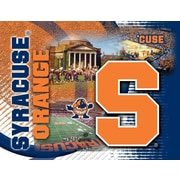 Holland Bar Stool NCAA Graphic Art on Canvas; Syracuse