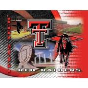 Holland Bar Stool NCAA Graphic Art on Canvas; Texas Tech