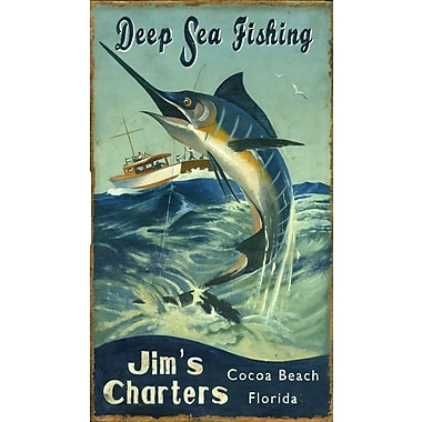 Vintage Signs Marlin Vintage Advertisement Plaque