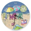 Lexington Studios 18'' Adirondack Summer Wall Clock