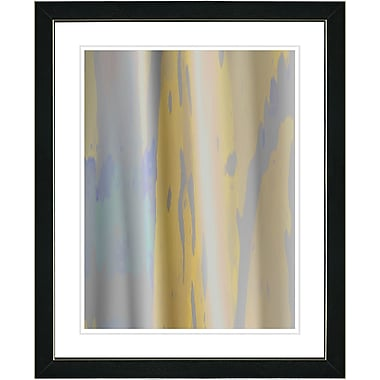 Studio Works Modern ''Yellow Flow'' by Zhee Singer Framed Graphic Art in Grey; Black