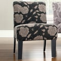 DHI Deco Rose Side Chair; Grey rose