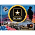 Holland Bar Stool US Armed Forces Graphic Art on Canvas; Army