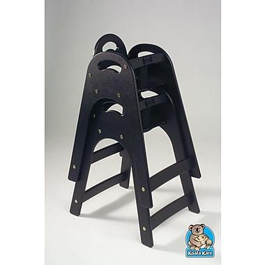 Koala Kare Products Designer High Chair; Black