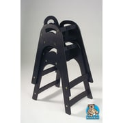 Koala Kare Products Designer High Chair; Black