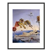 Frames By Mail 'Sting Caused by the Flight of the Bee' by Salvador Dali Framed Painting Print