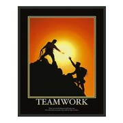 Frames By Mail Motivational Teamwork Framed Graphic Art