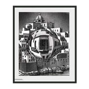 Frames By Mail 'Balcony' by M.C. Escher Framed Painting Print