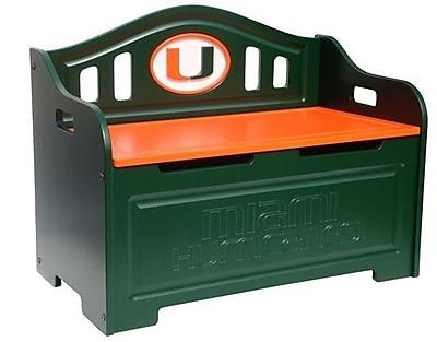 Fan Creations NCAA Storage Entryway Bench; University