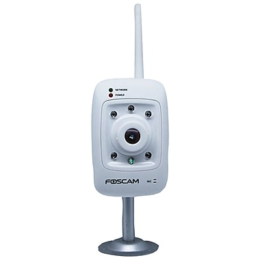 Foscam Fixed Wireless IP Camera; White
