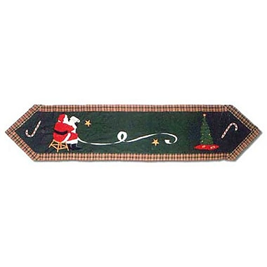 Patch Magic Santa By The Fireside Table Runner; 72'' W x 16'' L