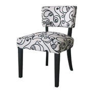 4D Concepts Cosmo Oversize Accent Side Chair