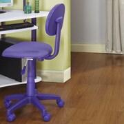 InRoom Designs Kid's Computer Desk Chair; Purple