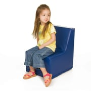 Foamnasium Straight Back Kids Novelty Chair; Blue