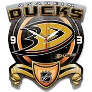 Wincraft NHL High Def Plaque Wall Clock; Anaheim Ducks