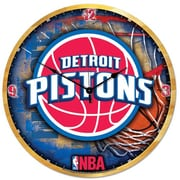 Wincraft NBA 18'' High Def Wall Clock; Detroit Pistons
