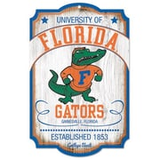 Wincraft Collegiate NCAA Minnesota University / College Vault Graphic Art Plaque; Florida Gators