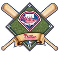 Wincraft MLB High Def Plaque Wall Clock; Philadelphia Phillies