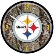 Wincraft NFL 12.75'' Camoflage Wall Clock; Pittsburgh Steelers
