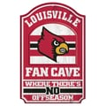 Wincraft NCAA Graphic Art Plaque; University of Louisville
