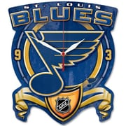Wincraft NHL High Def Plaque Wall Clock; St. Louis Blues