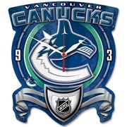 Wincraft NHL High Def Plaque Wall Clock; Vancouver Canucks