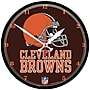 Wincraft NFL 12.75'' Wall Clock; Cleveland Browns
