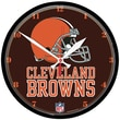 Wincraft NFL 12.75'' Wall Clock; Cleveland Browns