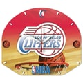 Wincraft NBA Plaque Wall Clock; Los Angeles Clippers