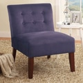 Kinfine Side Chair; Rich Plum Aubergine