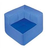 Wesco NA Cocoon Kid's Novlety Chair; Dark Blue / Light Blue