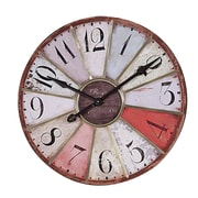 Creative Co-Op Oversized 29'' Wall Clock