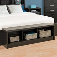 Prepac District Storage Bedroom Bench