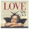 PS Collection Love Cupid Wall Clock