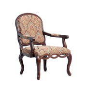 Comfort Pointe Harvard Carved Arm Chair