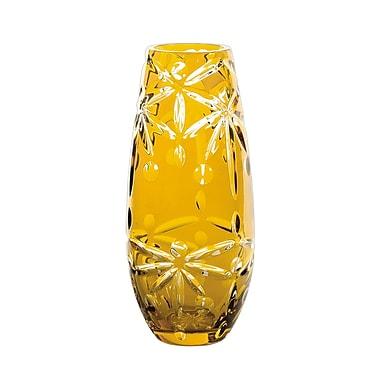 Dale Tiffany Vase; 10'' H x 4.5'' W x 4.5'' D