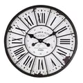 Creative Co-Op Oversized 24'' Wall Clock