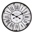 Creative Co-Op Oversized Tuscan 24'' Wall Clock