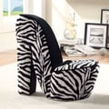 Hokku Designs Stiletto Heel Side Chair; Small