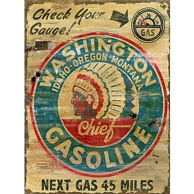 Vintage Signs Washington Gas Vintage Advertisement Plaque