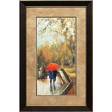 North American Art 'A Walk in the Park' by Aimee Wilson Framed Painting Print