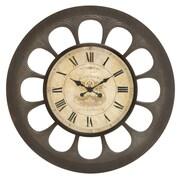 Woodland Imports Unique Oversized 34'' Design Wall Clock